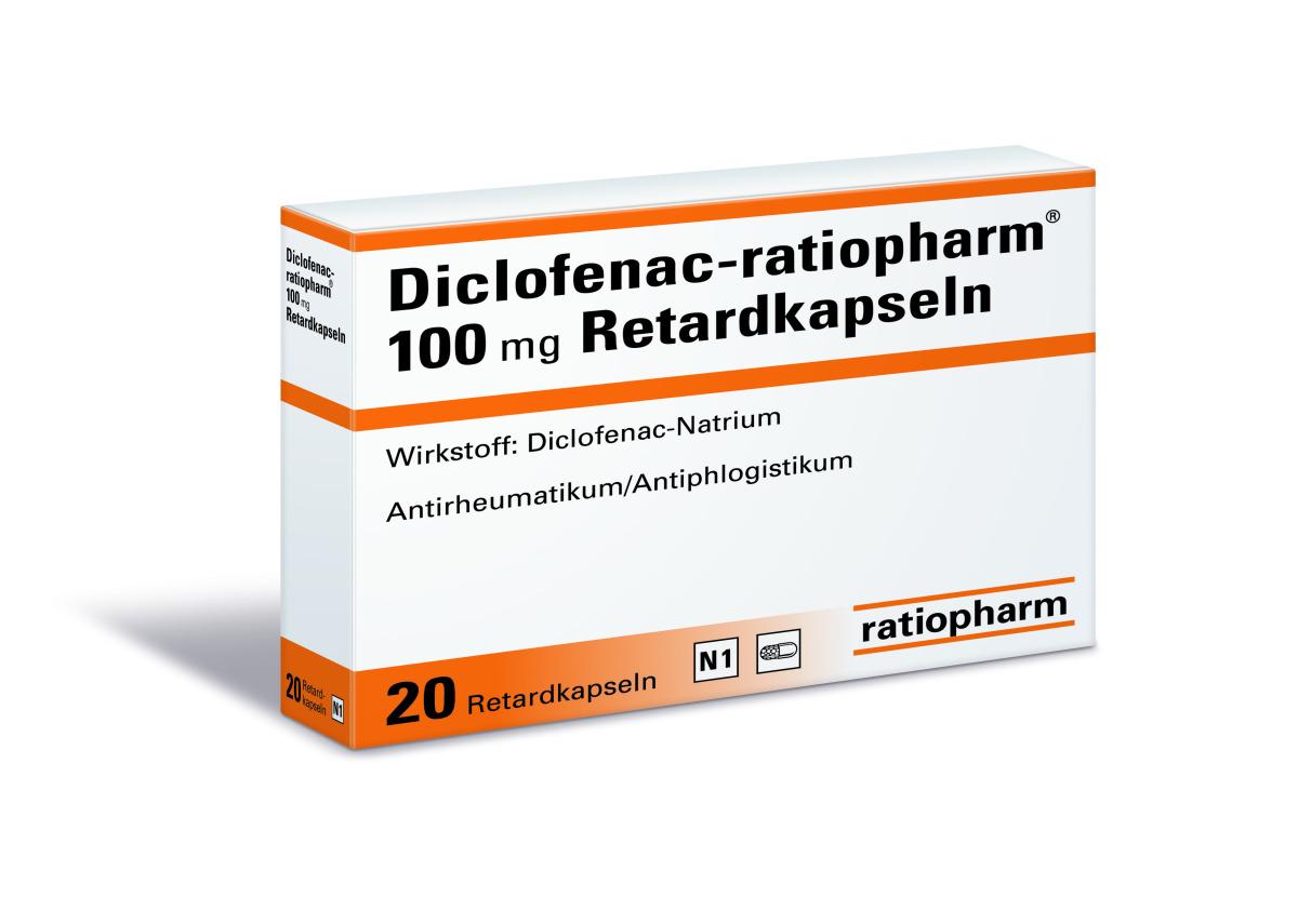 Diclofenac Stillen